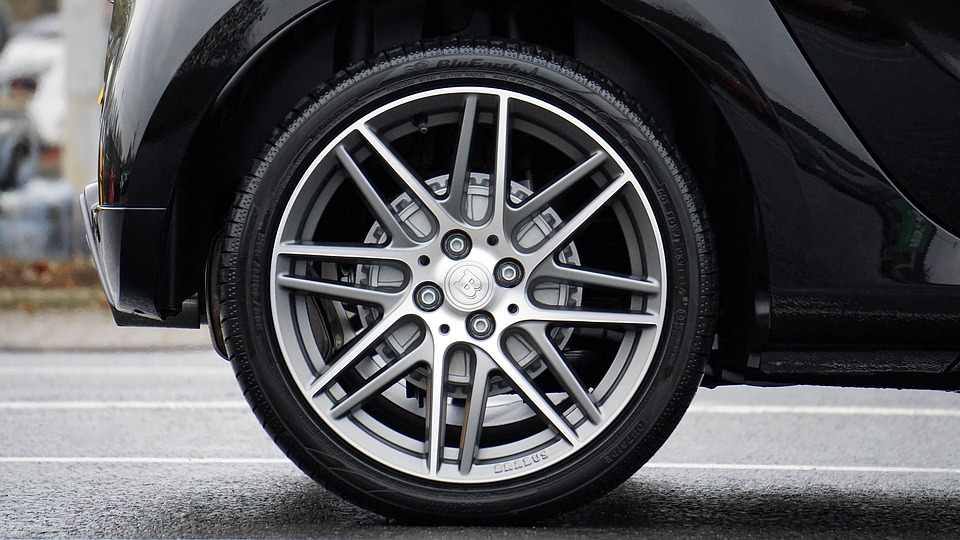Flat spots on tires